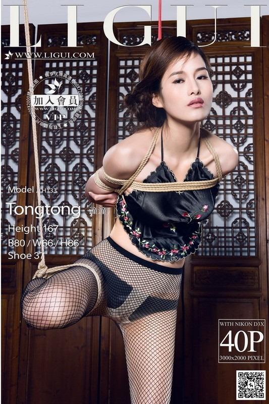 [Ligui丽柜]2014.07.13 Model 潼潼[40+1P/29.7M]